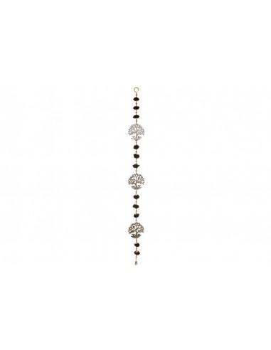 Reloj Metal y Cristal 40cm