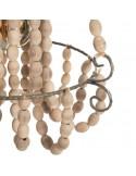 Cuadro Ovalado Mujer Floral 70cm
