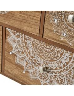Caja costurero madera Love