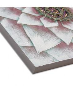 Cesto fibra natural bicolor Aleida