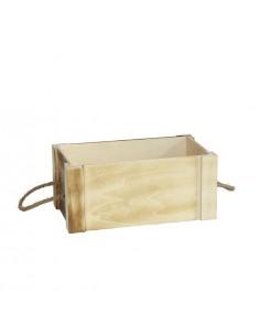 Caja rectangular calada étnica