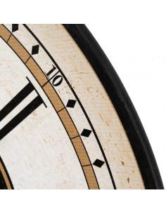 Reloj de pared blanco y negro Enric